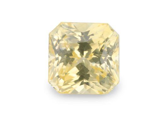 Sapphire Ceylon Yellow 6.7mm Sq Em/c Radiant (N) UNHEATED