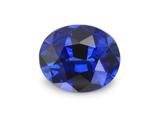 Sapphire Ceylon Bl 6.5x5.4mm Oval (E)