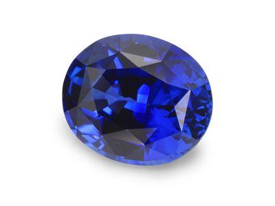 Sapphire Cey Bl 7x5.9mm Oval (E)