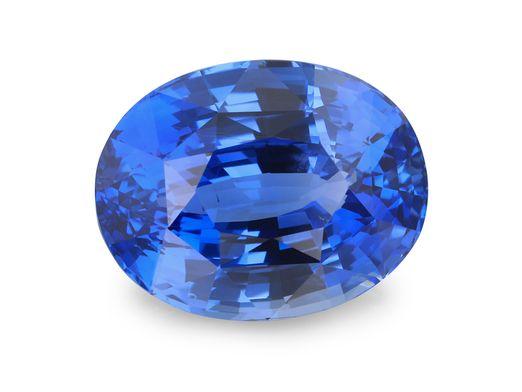 Sapphire Cey Mid Bl 14.25x11.1mm Oval (N) UNHEATED GRS Cert