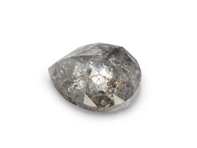 Diamond Salt & Pepper 6.8x5.75mm Pear (N)