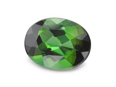 Tourmaline Green 9x7mm Oval (N)