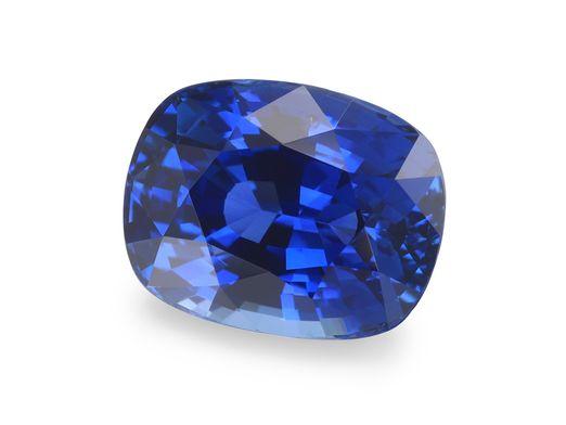 Sapphire Cey Bl 8.65x7.75mm Sq Cushion (E)