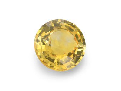 Sapphire Yellow 6.5mm Round (E)