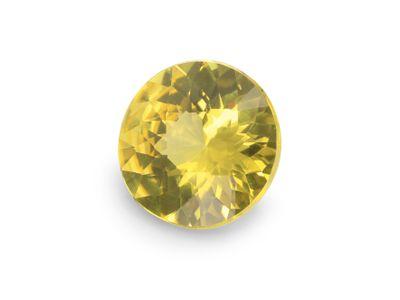 Sapphire Yellow 6.4mm Round (E)