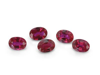 Ruby 4x3mm Oval Good Red (E)