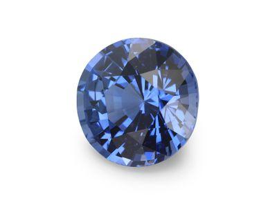 Sapphire Cey Mid Bl 7mm Round(E)