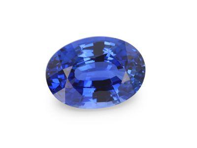 Sapphire Cey Bl 7.1x5.1mm Oval(E)