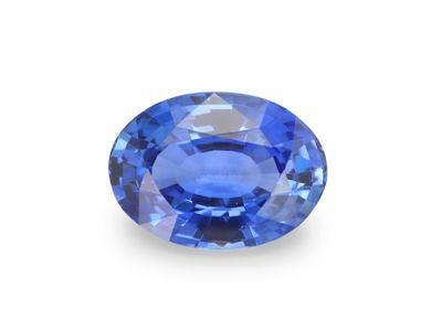 Sapphire Cey Mid Bl 7.05x5.1mm Oval(E)