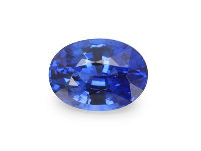 Sapphire Cey Bl 7x5.1mm Oval(E)