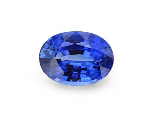 Sapphire Cey Bl 7.1x5.2mm Oval(E)