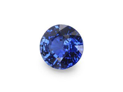 Sapphire Cey Bri Blue 5.5mm Round(E)