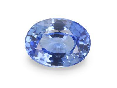 Sapphire Cey Mid Lt Bl 8.15x6.15mm Oval(E)