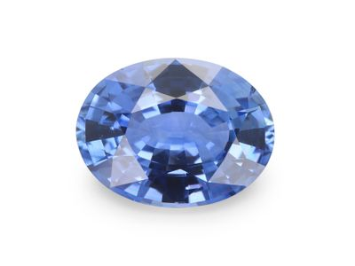 Sapphire Cey Mid Lt Bl 8x6.1mm Oval(E)
