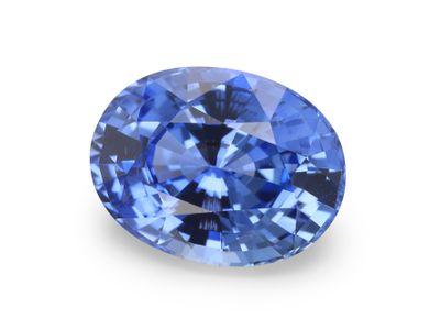 Sapphire Cey Mid Lt Bl 8.15x6.2mm Oval(E)