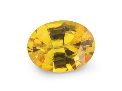 Sapphire Yellow 8.4x6.45mm Oval (E)