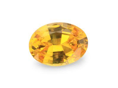 Sapphire Golden Yellow 7.6x5.6mm Oval (E)