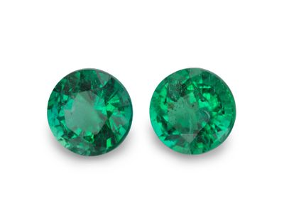Emerald 5.7mm Round (E) PAIR