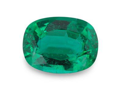 Emerald 9.9x7.3mm Cushion (E) GRS CERT