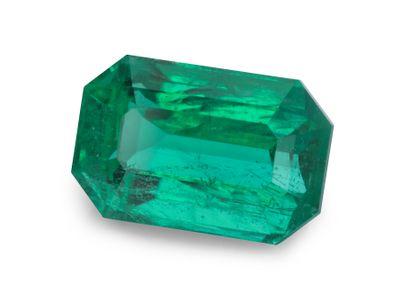 Emerald 9.7x6.3mm Em/c (E) GRS CERT