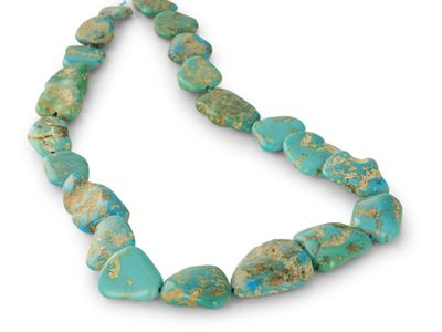 Turquoise Campitos 17-28mm Nuggets (E)
