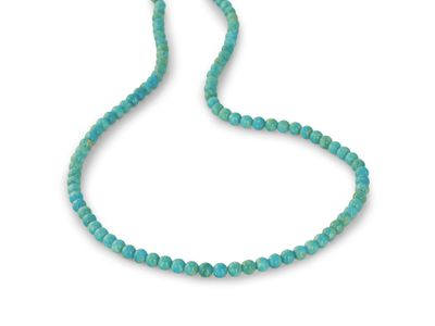 Turquoise Mexican 4mm Round (E)