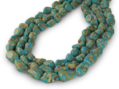 Turquoise Campitos Nuggets 10-18mm (E)