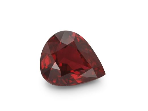Ruby 6.6x5.5mm Pear (E)