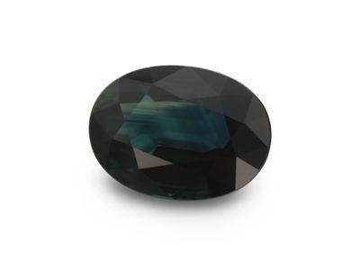 Sapphire Bl/Gr 7.65x5.6mm Oval (E)