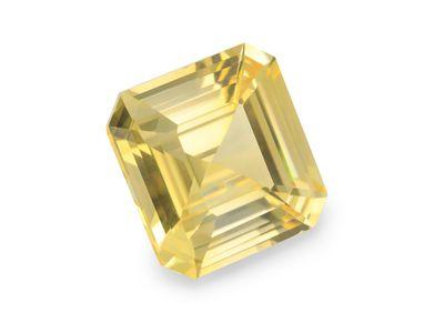 Sapphire Pale Yellow 9mm Sq Em/c (E)