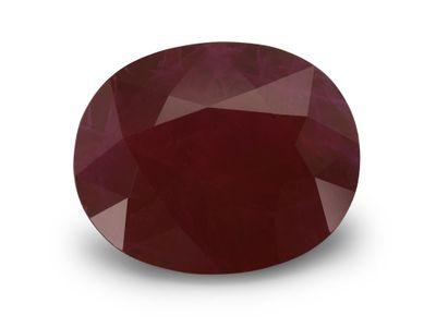 Ruby 11.8x9.5mm Oval (E)