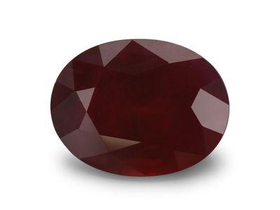Ruby 11.1x8.5mm Oval (E)
