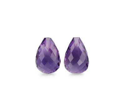 Amethyst Medium 12x8mm Briolette (N)