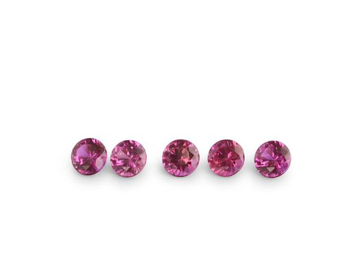 Ruby Bright Red 1.75mm Round Signity FQ (E)
