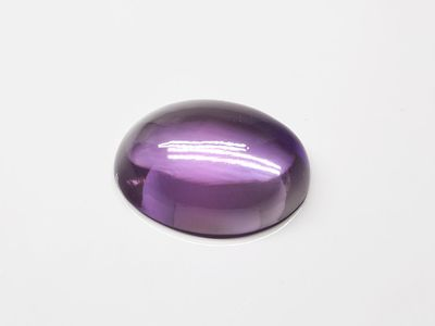Syn Amethyst Cor 16x12mm Oval Cab German Cut (S)