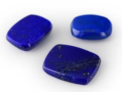 Lapis Lazuli 9x7mm Cushion BT (N)