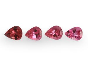 Spinel Pink 5x4mm Pear (N)