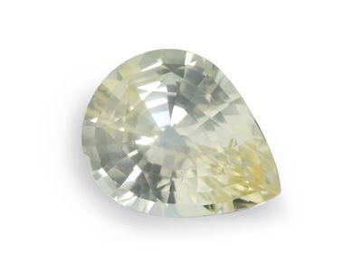 Ceylon Yellow Sapphire 14.4x11.4mm Pear (N)