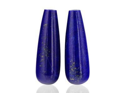 Lapis Lazuli 22x7mm Polish Drops (N)