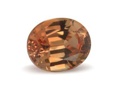 Sapphire Padparadscha 5.7x4.6mm Oval (E)