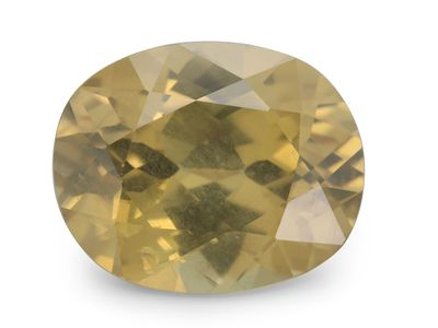 Zircon Yellow 11x8.9mm Oval (N)