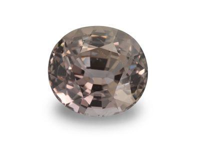 Sapphire Peach Pink 8.6x7.8mm Oval (E)