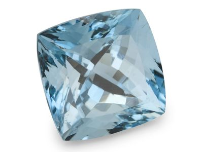 Aquamarine 13.8mm Sq Cushion (E)
