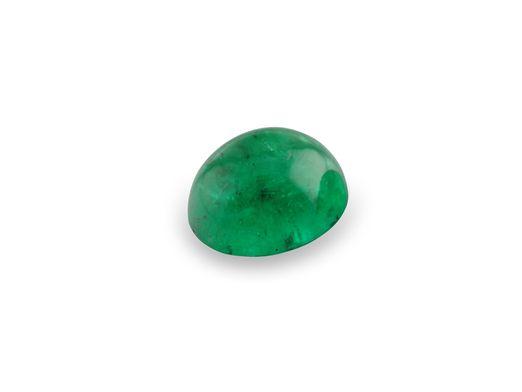 Emerald 6x5mm Oval Cabochon (E)