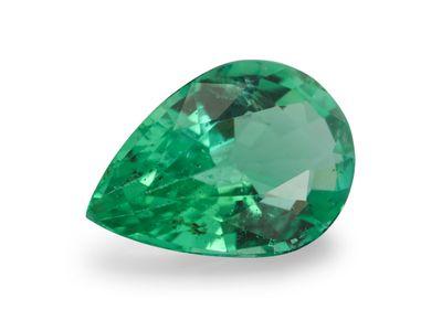 Emerald 6.7x4.7mm Pear  (E)