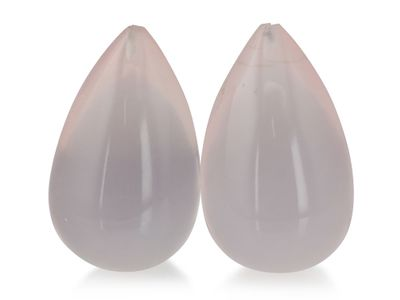 Drops Rose Quartz 20x12mm (N)