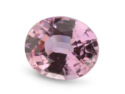 Sapphire Peachy Pink 8x6.6mm Oval (E)