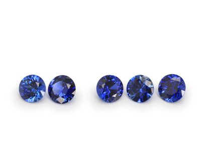 Sapphire Ceylon 3.5mm Round Gem Grade (E)