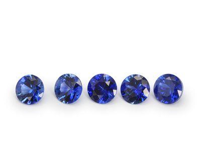 Sapphire Ceylon 3.75mm Round Gem Grade (E)