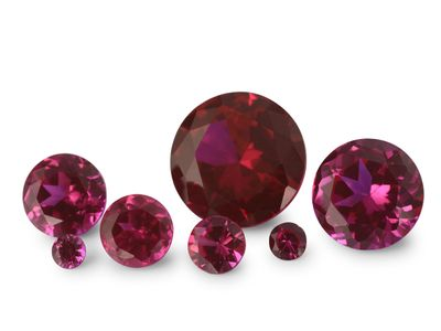 Syn Ruby Pink 12mm Round (S)